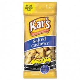 Kar's Nuts Salted Cashews, 1 oz Each, 100 Bags Total