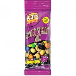Kar's Nuts Snack Mix Sweet N Salty, 3.5 oz Each, 42 Bags Total