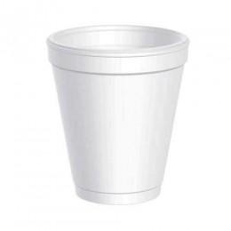 Dart 8J8 8 oz White Foam Cup, 1000 Total