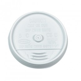 Dart 8UL 8 oz White Sip Thru Lid, 1000 Total