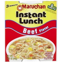 Maruchan Instant Lunch Beef Flavor, 2.25 oz Each, 12 Total