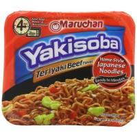 Maruchan 90707 Yakisoba Teriyaki, 4 oz Each, 8 Total