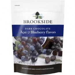 Brookfield Dark Chocolate Acai Blueberry 21 oz. Each Bag, 9 Total Bags