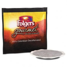 Folgers 100% Colombian Decaf Coffee Pods 0.35 oz Each Pod, 108 Pods Total
