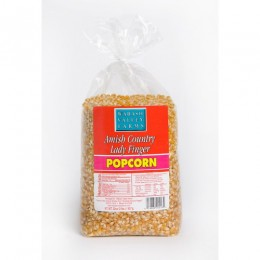 Amish Popcorn Ladyfinger Specialty Hulless - 2 lb bag