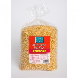 Amish Popcorn Ladyfinger Specialty Hulless - 6 lb bag