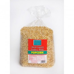Amish Popcorn Medium White Hulless 6 lb Bag