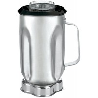 Waring Commercial CAC33 32oz Stainless Steel Container Complete for AD1, AD2, 700 or 7011