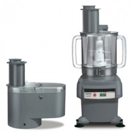 Waring Commercial FP2200 6 Qt Food Processor with Continuous Feed and Batch Bowl