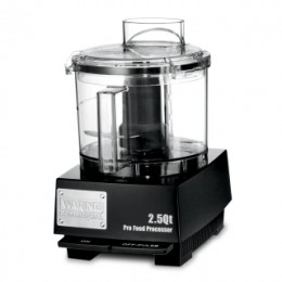 Waring Commercial WFP11SW 2.5 Qt Commercial Food Processor with LiquiLock Seal System and Flat Cover