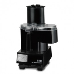 Waring Commercial WFP14SC 3.5 Qt Continuous Feed Food Processor with LiquiLock Seal