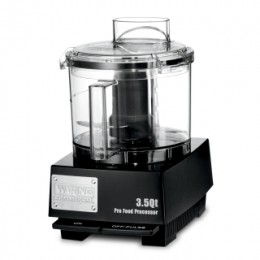 WFP14SW 3.5 Qt Commercial Food Processor with LiquiLock Seal System and Flat Cover