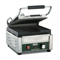 Waring Commercial WPG150B Panini Perfetto Compact Panini Grill 208V