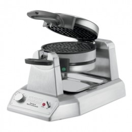 Waring Commercial WWD200 Heavy-Duty Double Vertical Classic Waffle Maker 120V 1300W