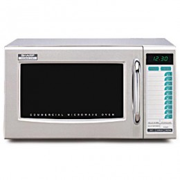 Sharp R-21LTF Medium Duty Commercial Microwave Oven 1000W
