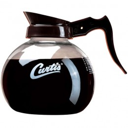 Curtis Glass Decanters - Black/White Curtis 24/CS
