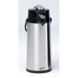 Curtis Thermo Pro Dispenser - 2.2L Airpot, Lever Handle, Decaf Lid 6/CS