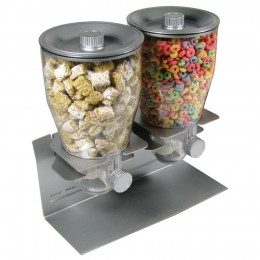 Zevro Professional Series Double Canister - Silver